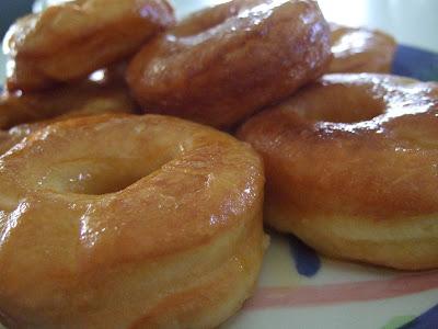 ... no love pride DEEP FRIED CHICKEN: homemade honey-glazed donuts