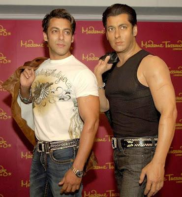 salman khan pics. Salman Khan#39;s Madame Tussauds