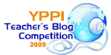 YPPI Teacher's Blog Competition