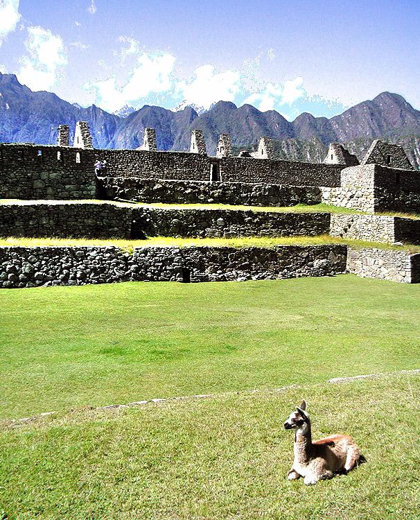 Machu Picchu, Machu Picchu Peru