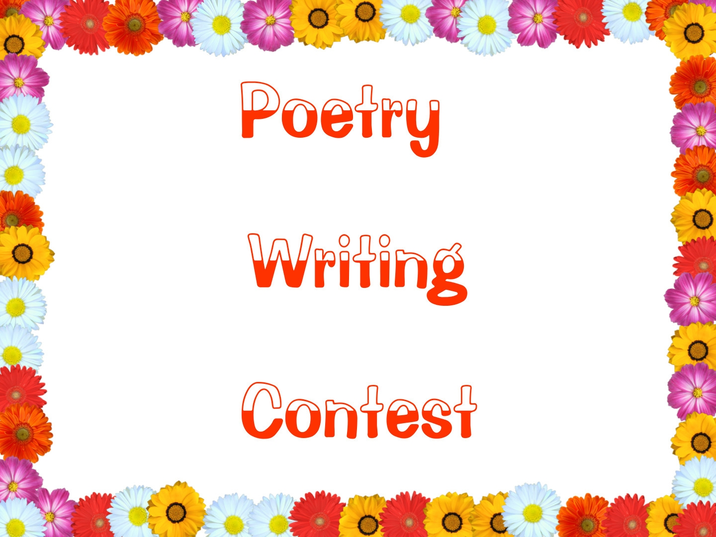 poem and essay contests