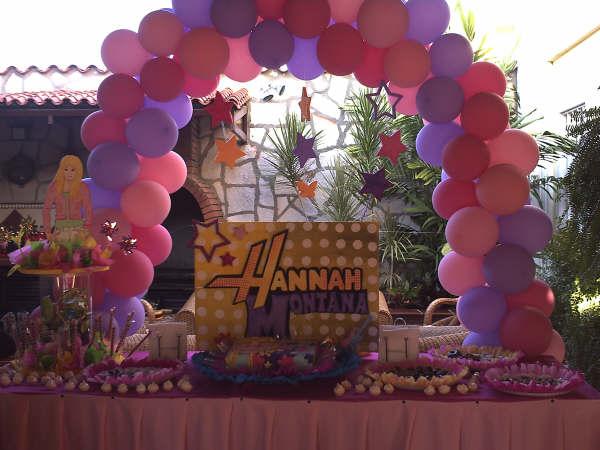 Decoracion Hanna Montana