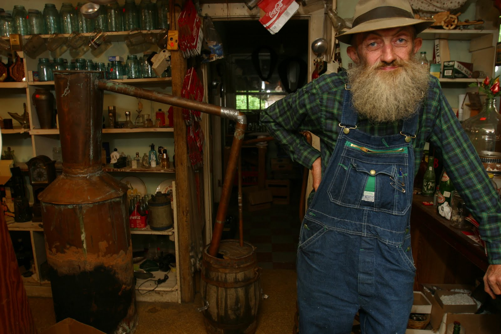 Popcorn sutton moonshine legend rusty knuckles for The sutton