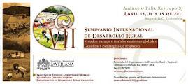 VII Seminario Internacional de Desarrollo Rural
