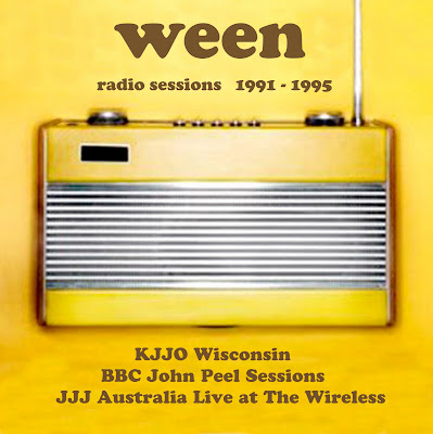 Ween: radio sessions album cover