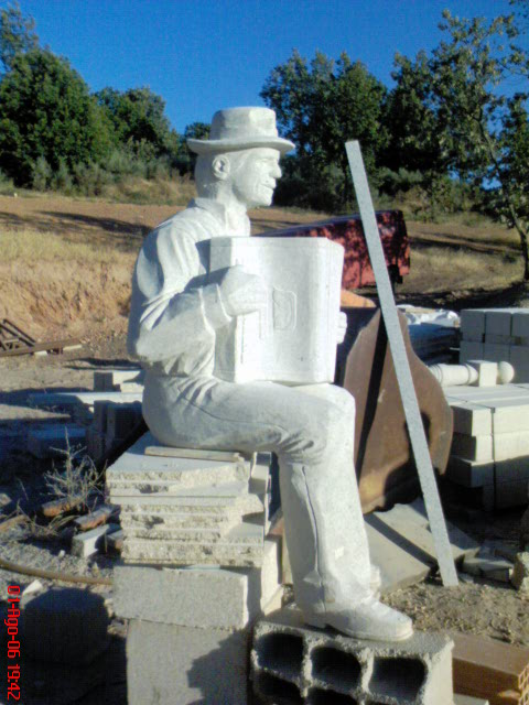 acordeonista da aldeia