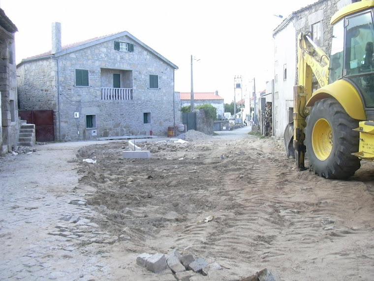 Urbanização em Vila Boa,espaço onde será afixado o monumento ao trabalho.