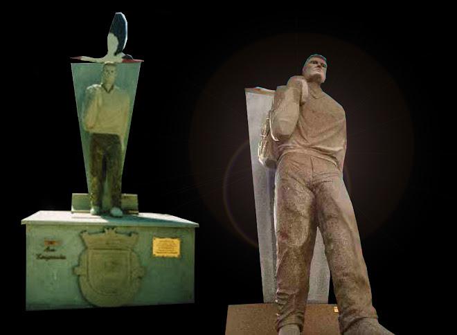 Aldeia de Quadrazais«Sabugal» escultura em granito.
