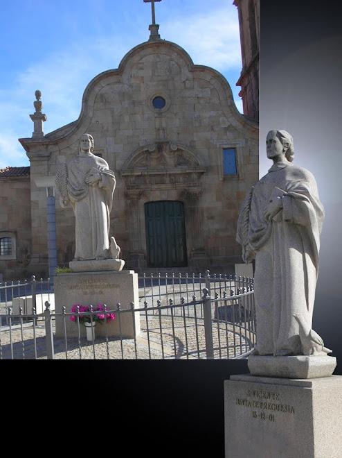 S:Vicente,escultura em granito