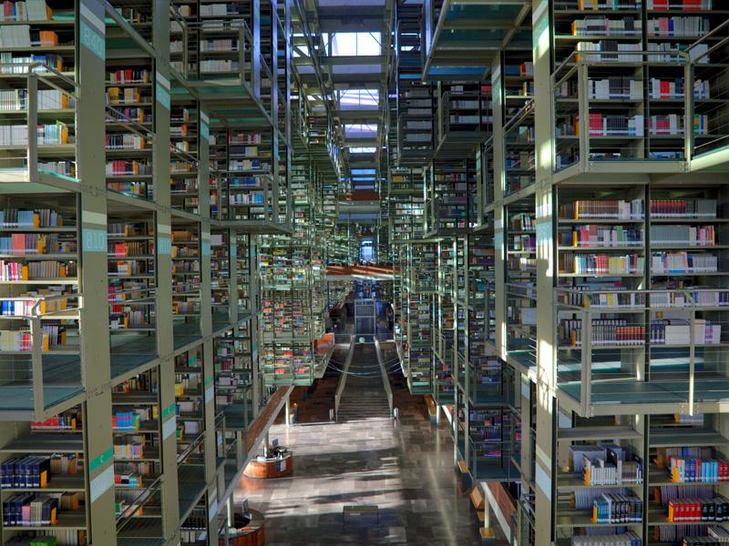 Biblioteca Jose Vasconcelos Fotos Del Interior