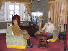 Pu Yi (The Last Emperor) meeting the Japanese General