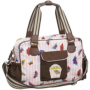 sweet craftiness pink lining 39 yummy mummy 39 changing bag. Black Bedroom Furniture Sets. Home Design Ideas