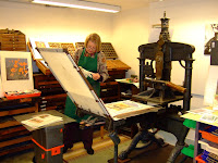 William Morris's press still in use