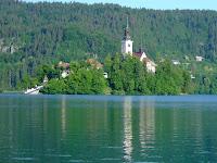 Morning at Lake Bled