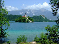 Lake Bled, Otok Island and the Castle