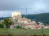 An Italian hill town