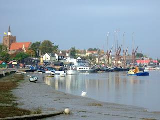 Maldon harbour
