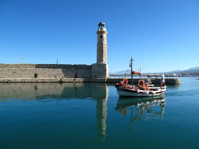 Rethymno harbour
