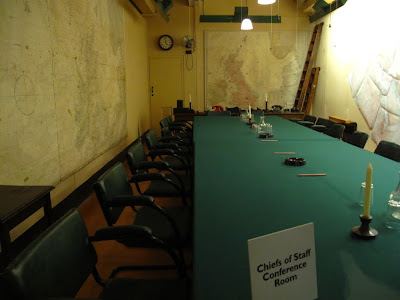 Chiefs of Staff conference room