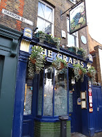 The Grapes - historic pub in Docklands where Charles Dickens based the pub in 'Our Mutual Friend'