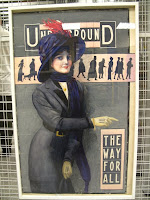Early London Underground poster