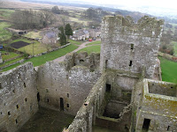 View from the roof of Bolton Castle
