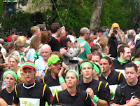 Princess Beatrice - left hand side - first Royal to run in the London Marathon