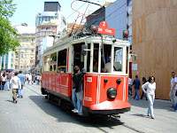 Antique tram