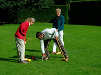 Croquet at Hidcote Manor Gardens