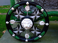 Gun carriage wheel