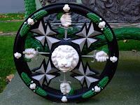 Gun carriage wheel