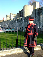 A Yeoman Warder (Beefeater)