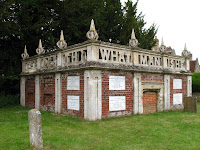 The mausoleum at Turvey