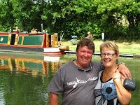 John & Robyn canalside