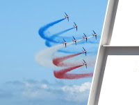 la Patrouille de France performing