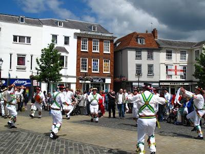 Morris dancers, Abingdon