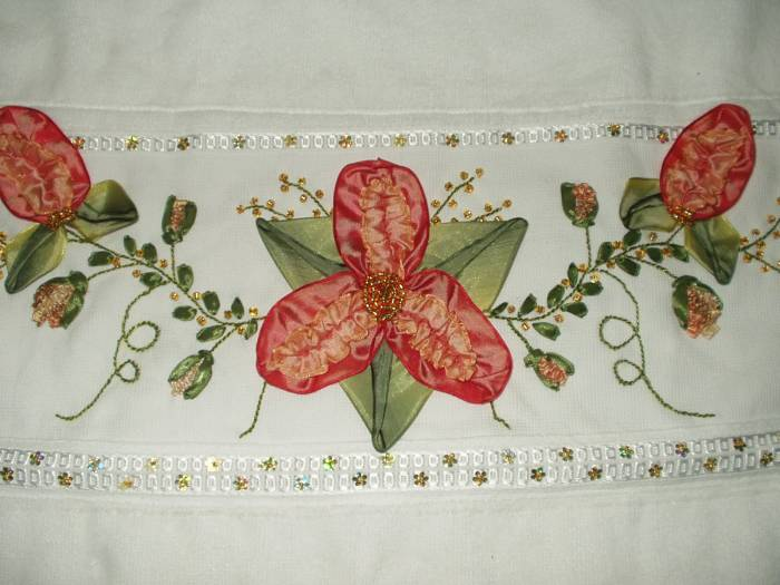 Ribbon embroidery knitting gallery