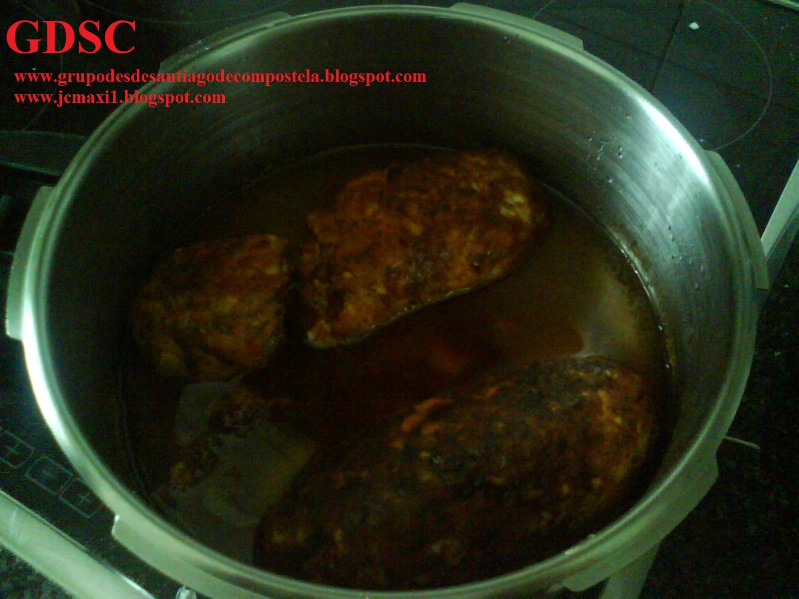 Mi cocina desde santiago de compostela bonito en rollo - Cocinas en santiago de compostela ...