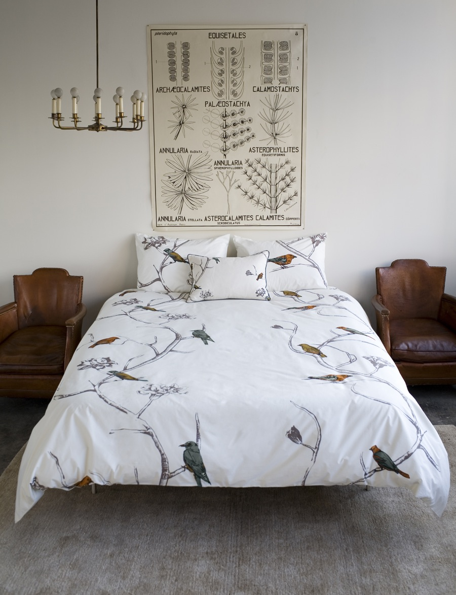 exquisite banana duvet for our bedroom -  on the process if we're going to buy a second cover shouldn't wesplurge on one we really want he was talking about this beauty from dwellstudio