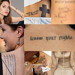 Angelina Jolie And Brad Pitt Got New Tattoos