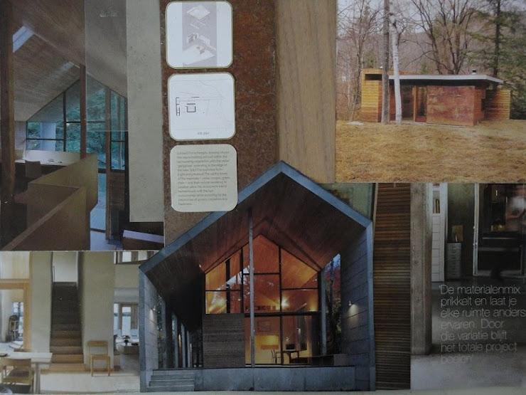 3D- collage architectuurstijl