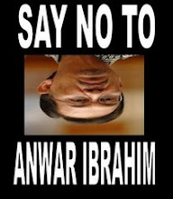NO TO ANWAR IBRAHIM!!