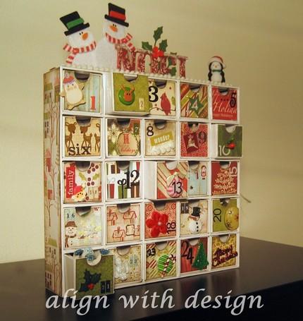 Ms de 25 ideas increbles sobre Calendario de adviento en