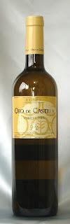 ボデガ・エルマノス・デル・ビリャール オロ・デ・カスティーリャ ベルデホ白 2005 ボトル ラベル