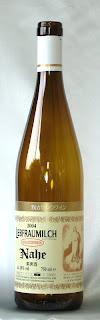 我が家のワイン リープフラウミルヒ QbA 2004 ボトル ラベル