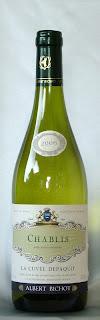 シャブリ・ラ・キュヴェ・デパキ 2006 ボトル ラベル