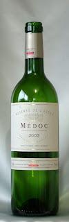 カルベ メドック 2003 ボトル ラベル
