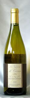レ・ヴィニュロン・ド・カルナス ヴァン・ド・ペイ・ドック シャルドネ 2003 ボトル ラベル