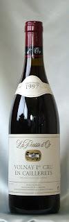 ヴォルネイ プルミエ・クリュ カイユレ 1997 ドメーヌ・ド・ラ・プス・ドール ボトル ラベル