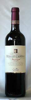 オヤ・デ・カデナス レゼルバ テンプラニーリョ 2005 ボトル ラベル